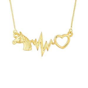 Gargantilha Cavalo, Batimento e Coração