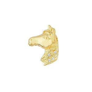 Pingente Cavalo Com Zircônia