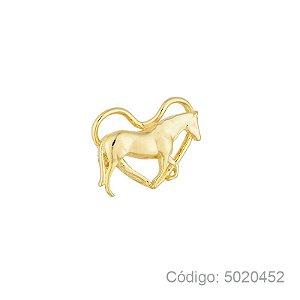 Pingente Coração com Cavalo