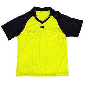 Camisa para Árbitro - Juiz de Futebol AX Esportes Limão