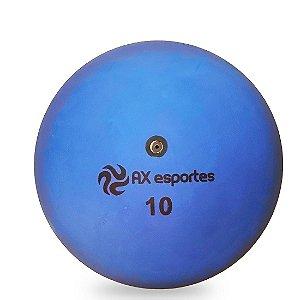 Bola de Iniciação Borracha AX Esportes Nº10 - Azul