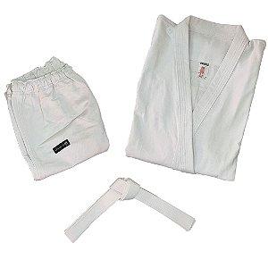 Kimono Adulto de Karatê AX Esportes Branco
