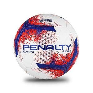 Bola de Campo Líder Penalty XXI N4 Juvenil - Branca/Vermelha