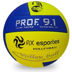 Bola de Vôlei Profissional 9.1 AX Esportes