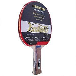Raquete de Tênis de Mesa Yashima Starter Borracha DUPLA