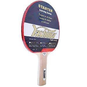 Raquete de Tênis de Mesa Yashima Starter Borracha Simples