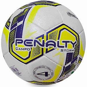 Bola de Campo Penalty Storm N4 X - Roxa e Amarela