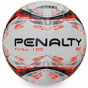 Bola de Futsal Penalty RX 100 IX - Branco e Laranja