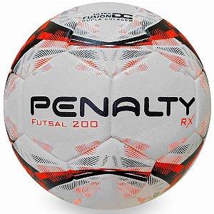 Bola de Futsal Penalty RX 200 IX - Branco e Laranja