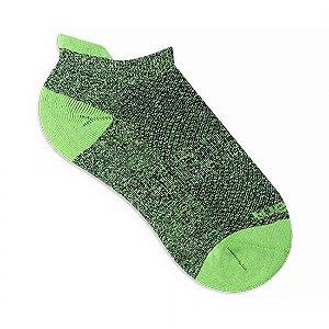 Meia Sapatilha Rikam Feminina Microfibra 34-39 Verde