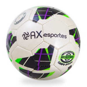Bola de Futebol de Campo AX Esportes em Microfibra