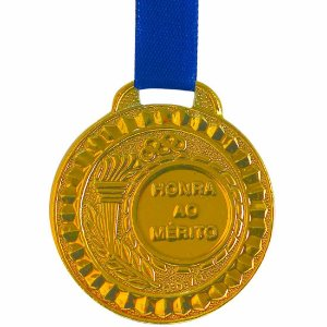 Medalha AX Esportes Bronzeada 44mm (Contém 10 unidades)