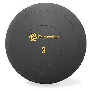 Bola Medicine Ball Kick Borracha 3 Kg AX Esportes