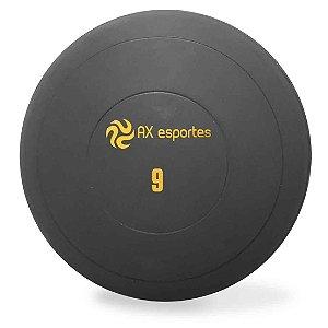 Bola Medicine Ball Kick Borracha 9 Kg AX Esportes