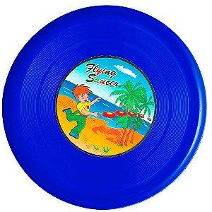 Frisbee AX Esportes Plástico 25 Cm Azul - Y302