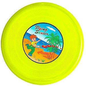 Frisbee AX Esportes Plástico 25 Cm Amarelo - Y302