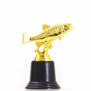 Troféu de Pesca 13cm AX Esportes-Y256