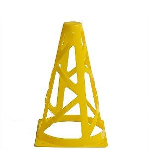 Cone de 18cm Flexível para Treinamento AX Esportes - Amarelo
