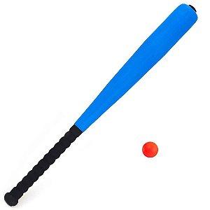 Taco De Baseball Mirim em Espuma e Leve Azul Y272