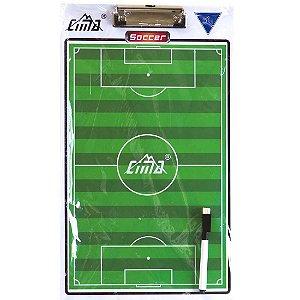 Prancheta Tática AX Esportes p/ Campo (40x24 cm)