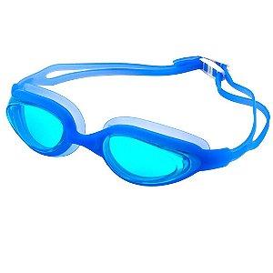 Óculos De Natação AX Esportes Antiembaçante Azul Claro-OA330