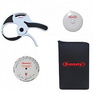 Combo Adipômetro/Plicômetro Clínico Sanny (Cód.: AD1009C)