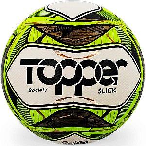 Bola de Futebol Society Topper Slick II
