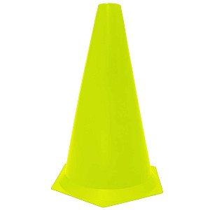 Cone 23cm Rígido p/ Treinamento AX Esportes Amarelo