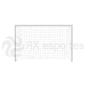 Trave para Futsal AX Esportes Tubular sem Requadro com Buchas (Par) - Mod.1175