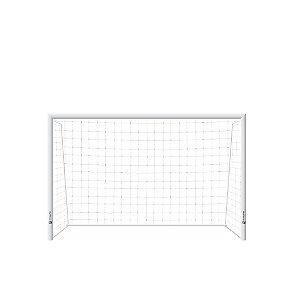 Trave de Futsal AX Esportes Desmontável com Requadro e sem Buchas (Par) - Mod1180