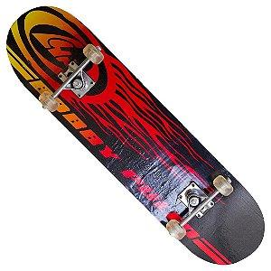 Skate com Truck em Alumínio Estampa