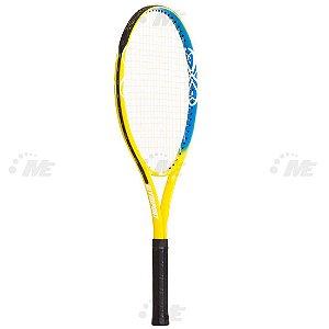 Raquete de Tênis AX Esportes Adulto T27 em Alumínio Amarela com Capa - OA065