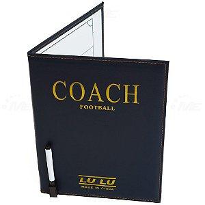Prancheta Tática AX Esportes 28x21cm Livro com Capa Curvim - Y290