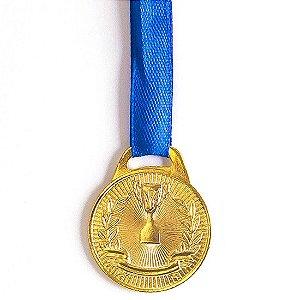 Medalha AX Esportes 30mm Honra ao Mérito Dourada-FA465 (Pç)