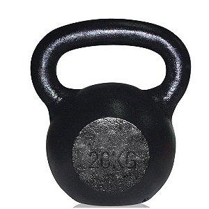 Kettlebel em Ferro Fundido 20 Kg AX Esportes (Unidade)