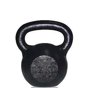 Kettlebel em Ferro Fundido 12 Kg AX Esportes (Unidade)