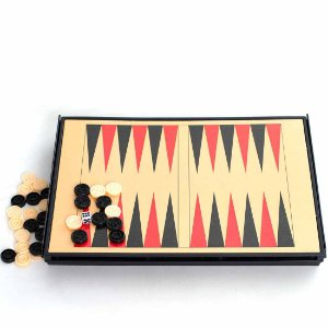 Jogo de Xadrez Escolar AX Esportes 5x1 com Estojo Plástico 17x24cm - Fa403