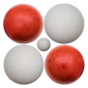 Jogo de Bocha com 1 Balim e 8 Bolas de 1400 grs