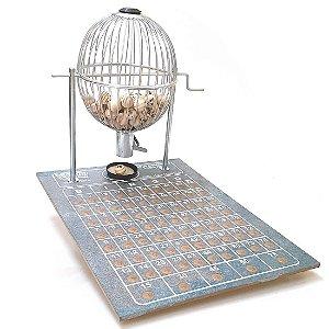 Jogo de Bingo com Globo - Roleta Grande