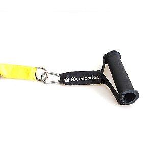 Extensor de Tração Perna AX Esportes com 3 Elásticos