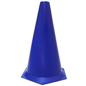 Cone 23cm Rígido p/ Treinamento AX Esportes Azul