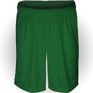 Calção AX Esportes Poliéster Liso Verde