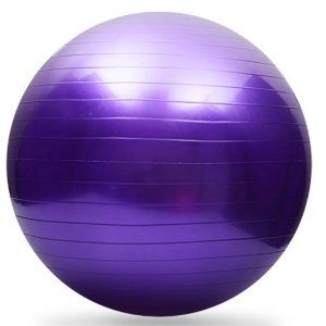 Bola Fitball AX Esportes 55cm Roxa