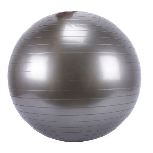 Bola Fitball AX Esportes 55cm Prata