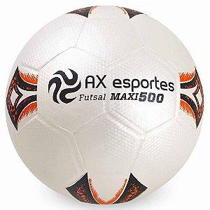 Bola de Futsal AX Esportes Maxi 500 Matrizada com 32 Gomos