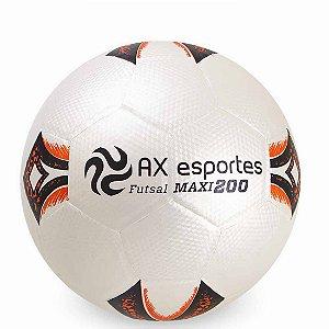 Bola de Futsal AX Esportes Maxi 200 Matrizada com 32 Gomos