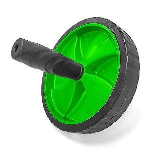 Roda de Exercícios Abdominais AX Esportes 19cm Verde