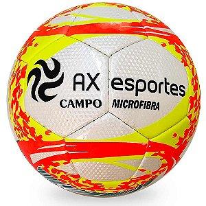 Bola de Futebol de Campo AX Esportes em Microfibra AM/LAR/VD