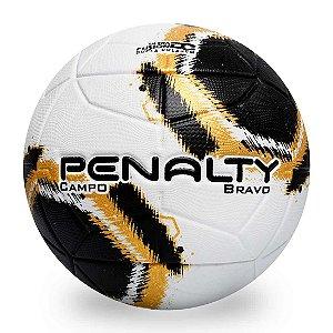 Bola de Futebol Campo Penalty Bravo XXI - BCO/PT