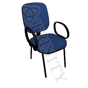 Cadeira Diretor Pés Palito Com Braço